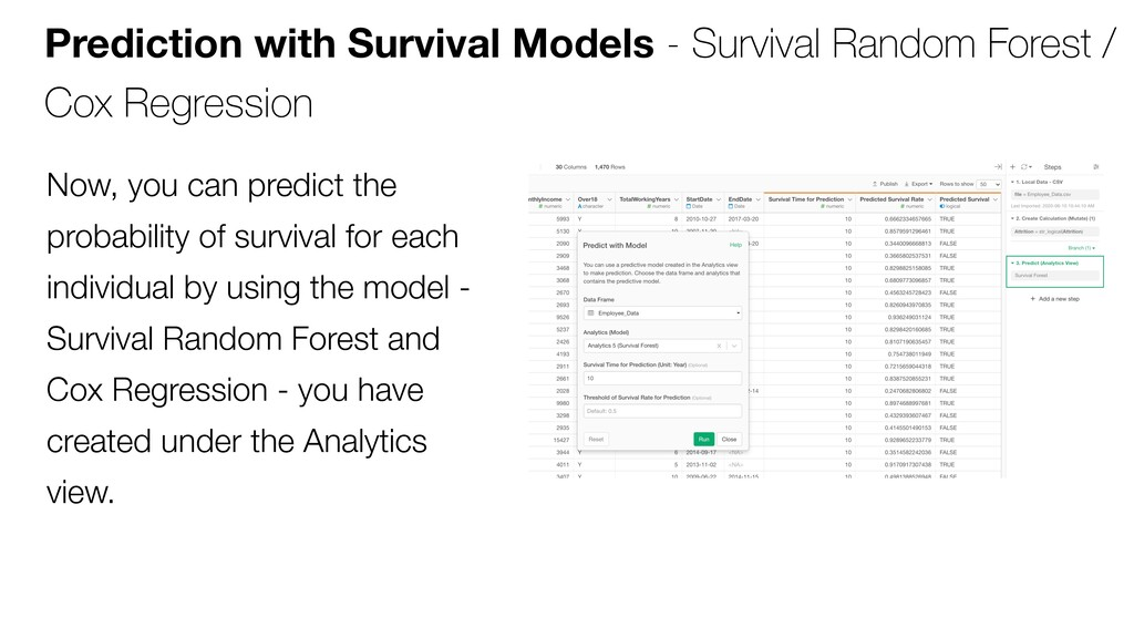 Prediction with Survival Models - Survival Rand...