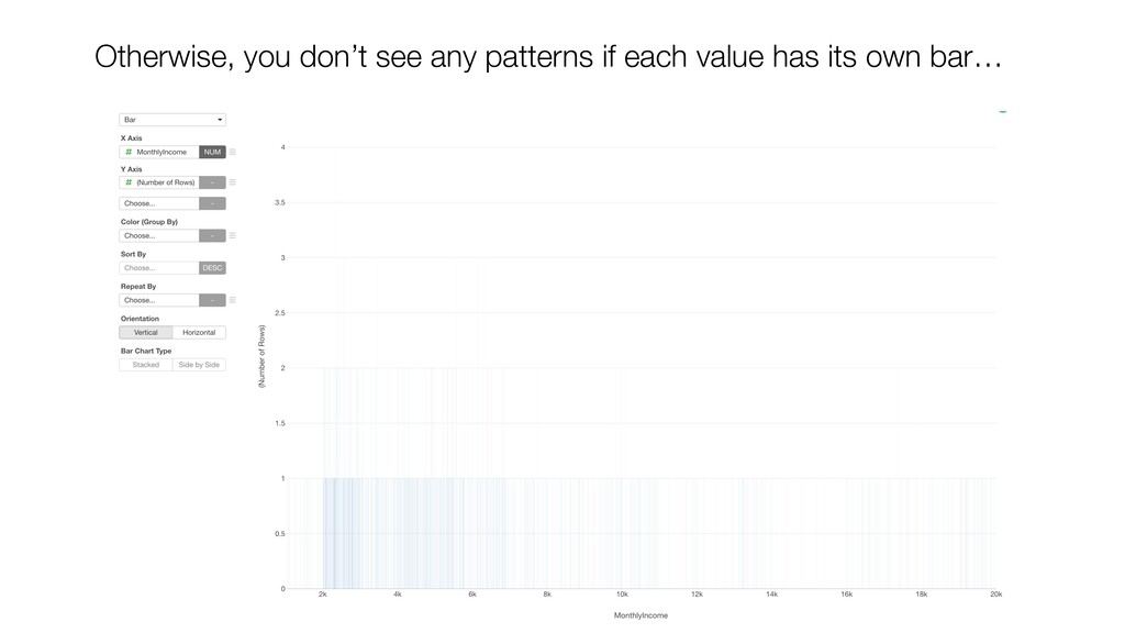 Otherwise, you don't see any patterns if each v...