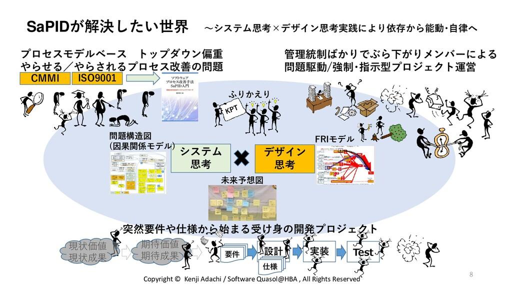 SaPIDが解決したい世界 ~システム思考×デザイン思考実践により依存から能動・自律へ プロセ...