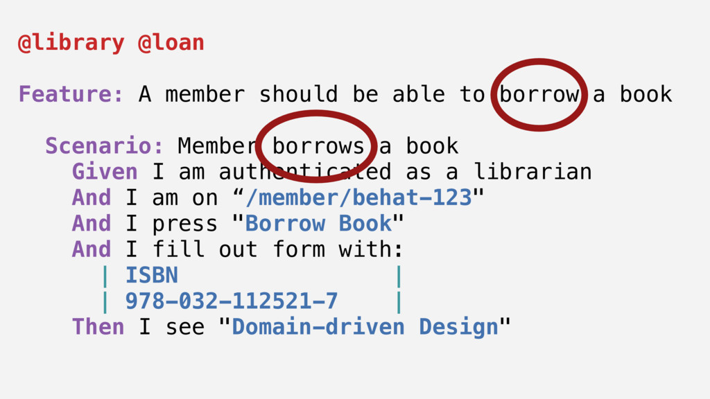@library @loan Feature: A member should be able...