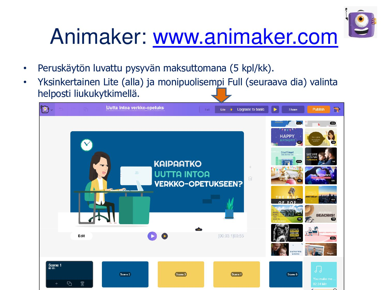 Animaatioita kuva kuvalta I can animate (Androi...