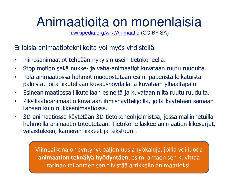 Animaatioita on monenlaisia fi.wikipedia.org/wi...