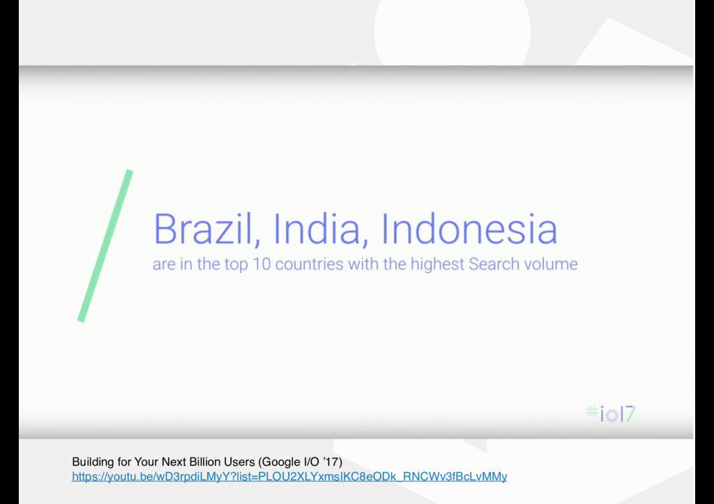 Building for Your Next Billion Users (Google I/...