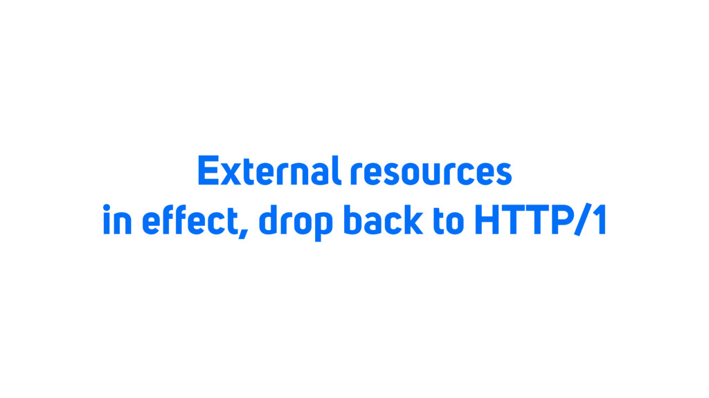 External resources in effect, drop back to HTTP...