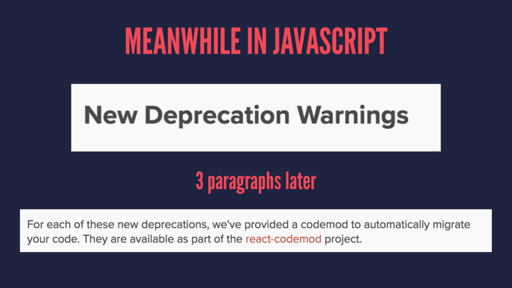 MEANWHILE IN JAVASCRIPT 3 paragraphs later