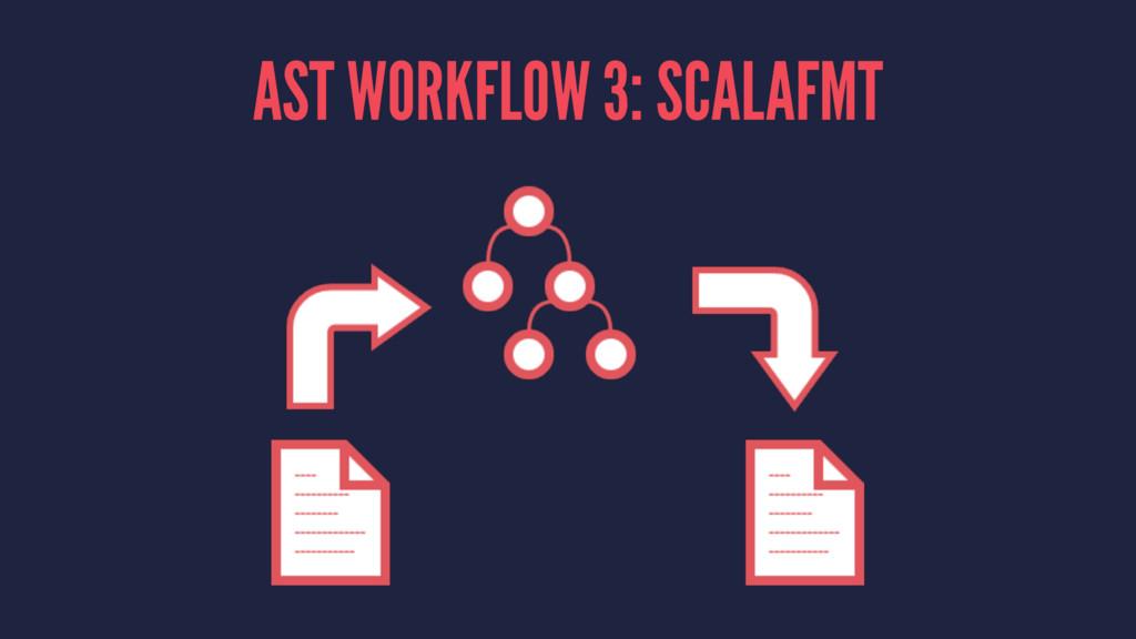 AST WORKFLOW 3: SCALAFMT