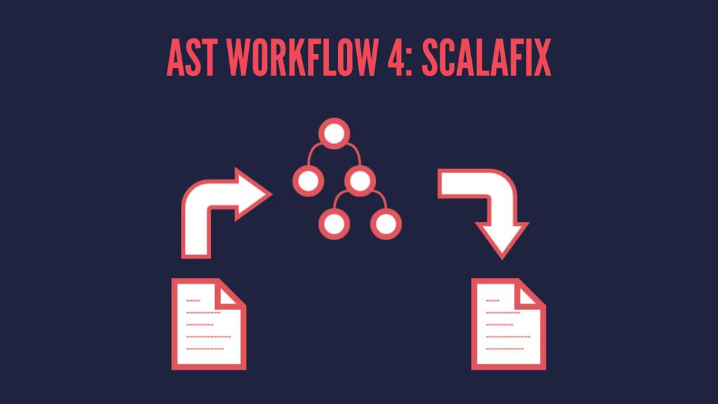 AST WORKFLOW 4: SCALAFIX