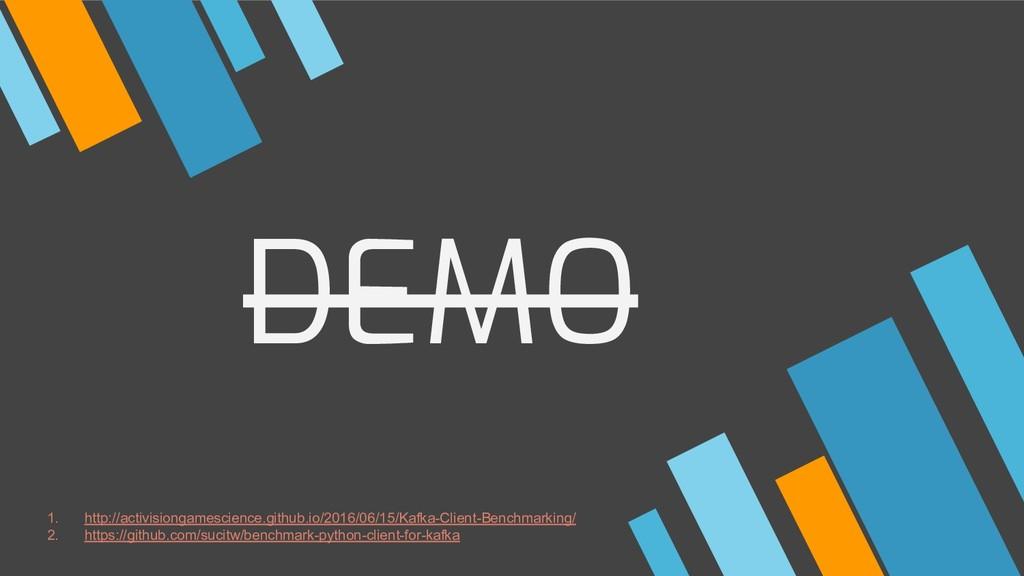 DEMO 1. http://activisiongamescience.github.io/...