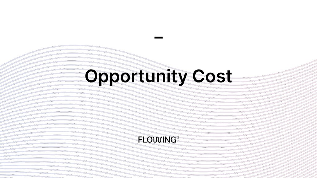 Opportunity Cost _