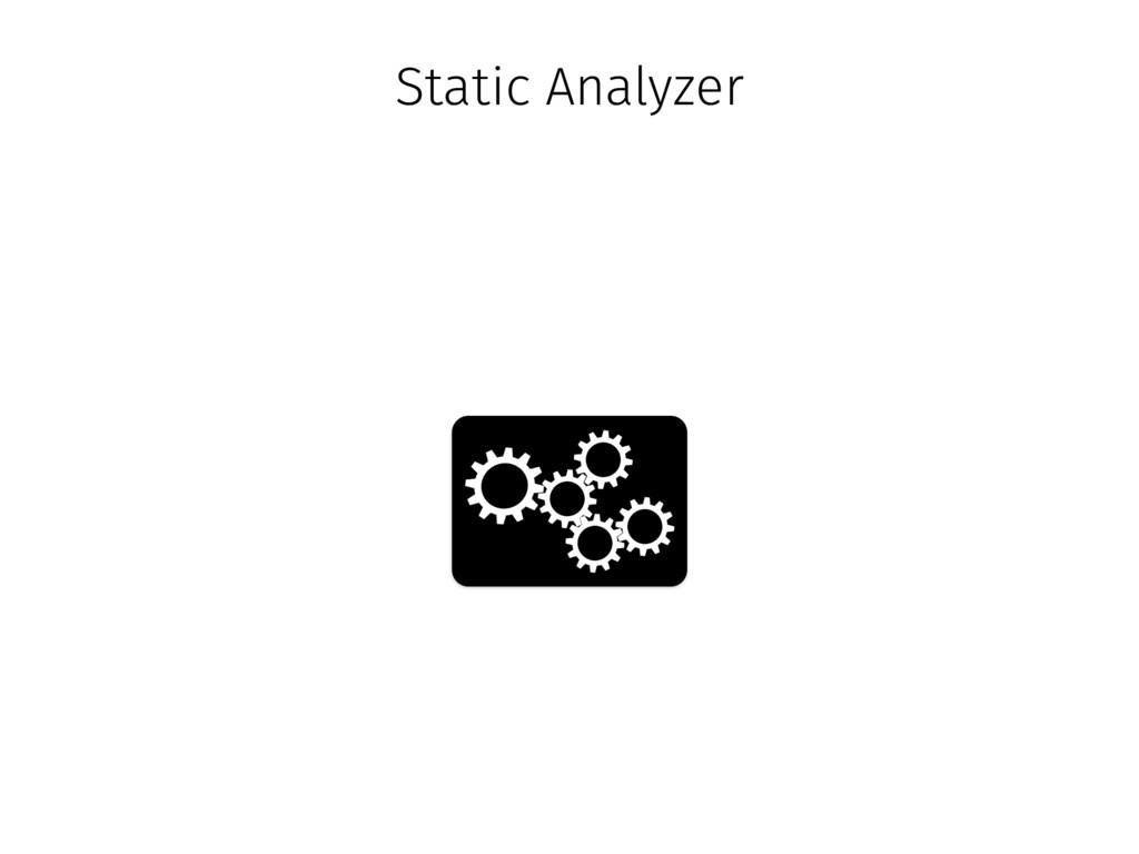 Static Analyzer