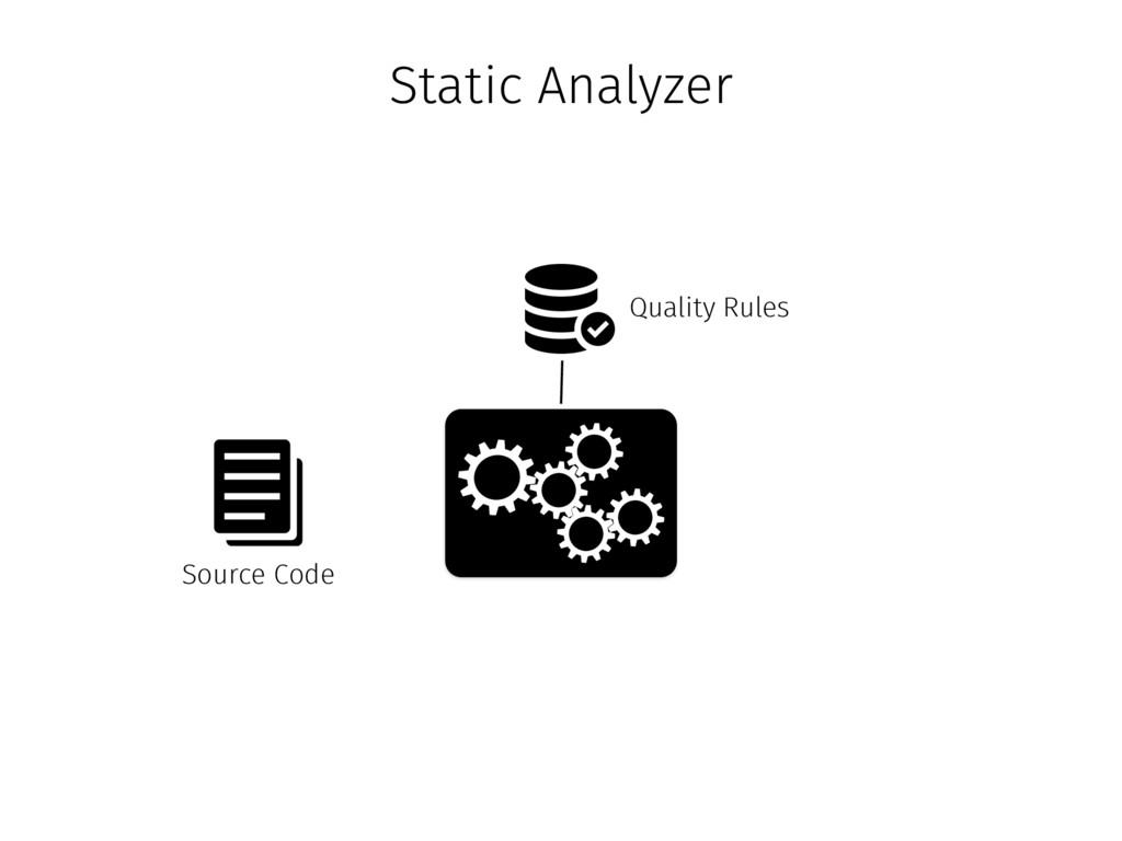Quality Rules Source Code Static Analyzer