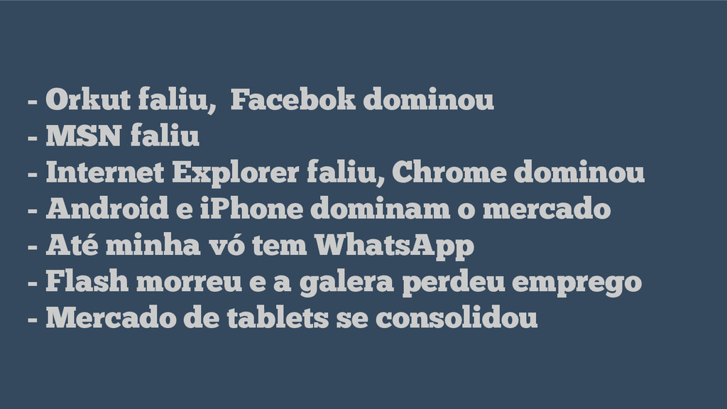 - Orkut faliu, Facebok dominou - MSN faliu - In...
