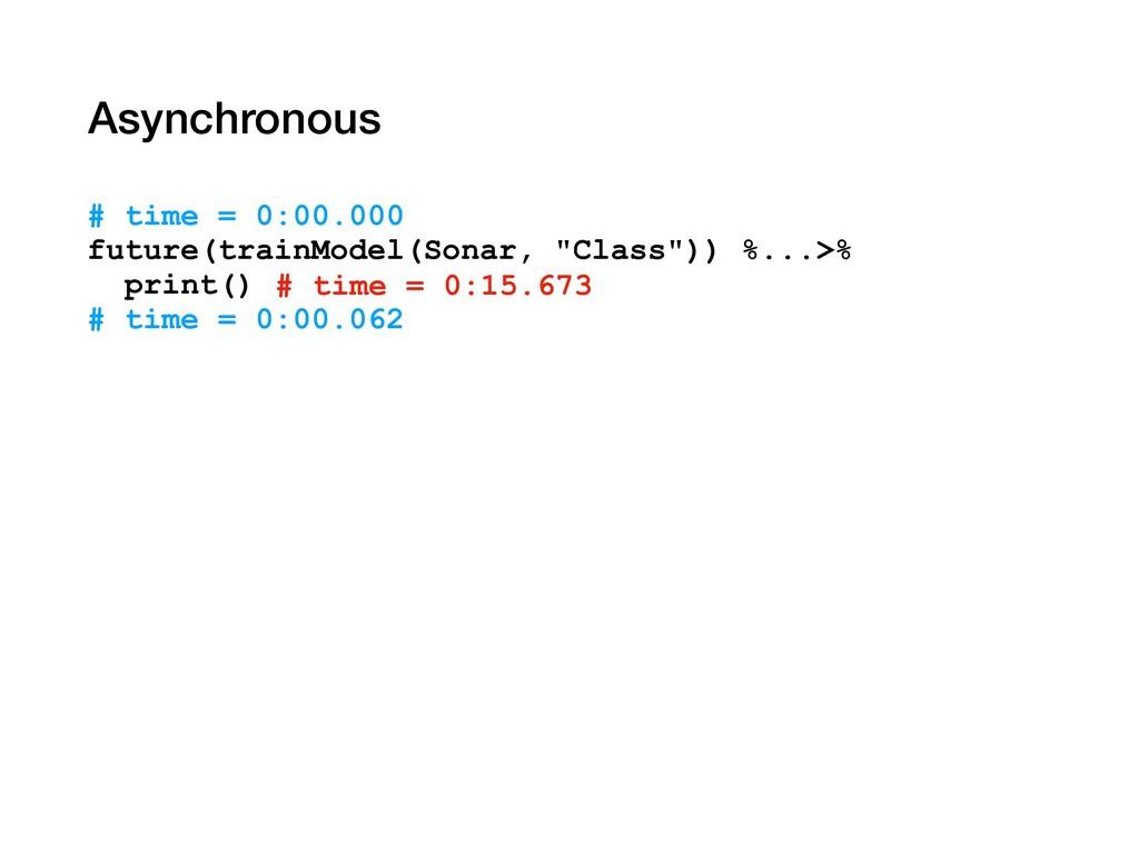 Asynchronous # time = 0:00.000 future(trainMode...