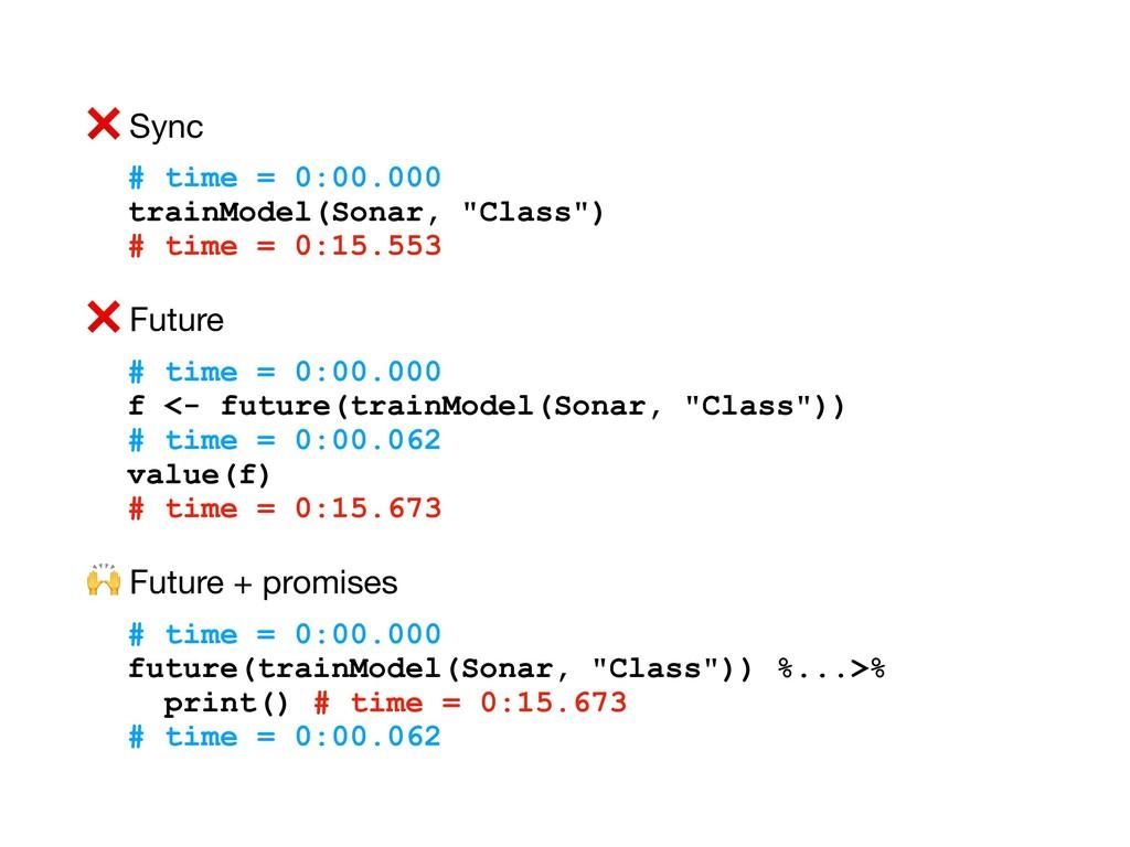 """❌ Sync  # time = 0:00.000 trainModel(Sonar, """"Cl..."""