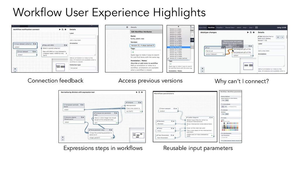 Workflow User Experience Highlights Connection f...