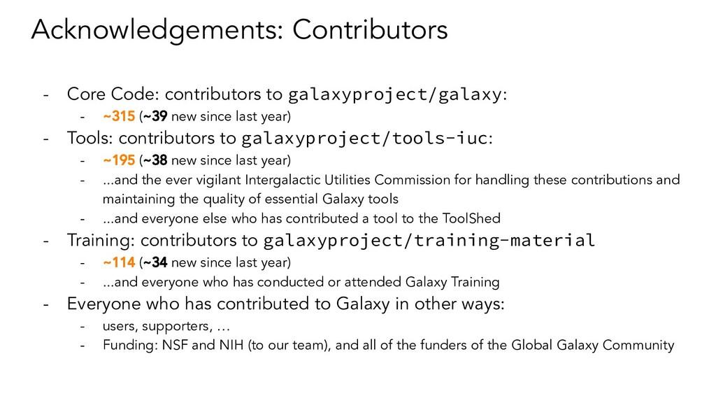 Acknowledgements: Contributors - Core Code: con...