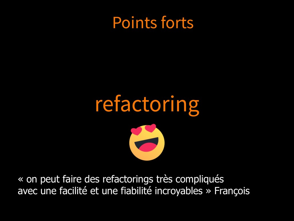 refactoring « on peut faire des refactorings tr...