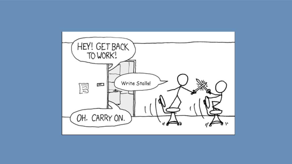 Write Stalls!