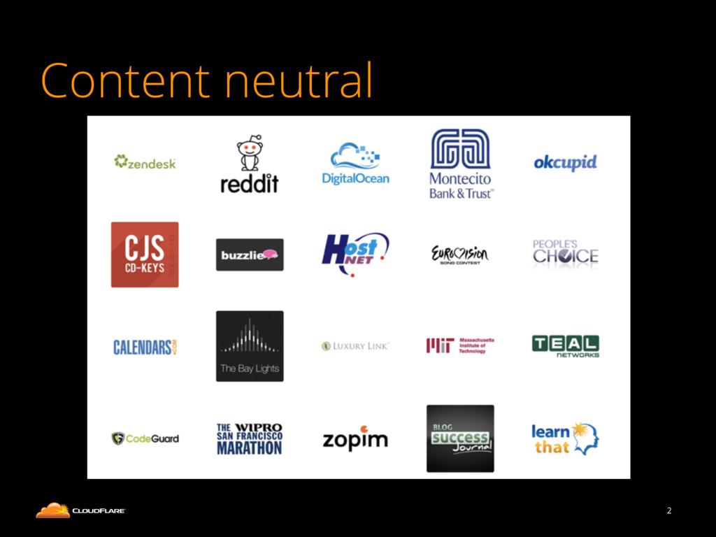 Content neutral 2
