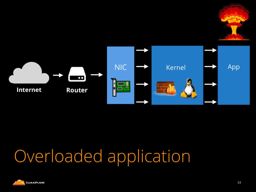 53 Internet Router NIC Kernel App Overloaded ap...