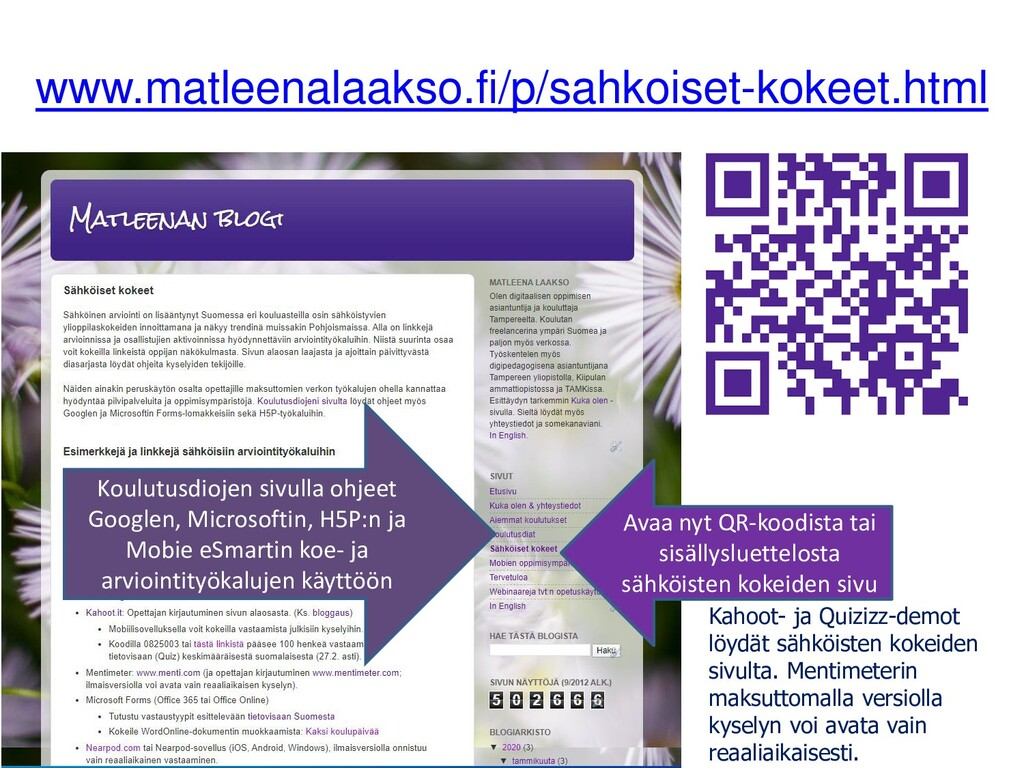 www.matleenalaakso.fi/p/sahkoiset-kokeet.html A...