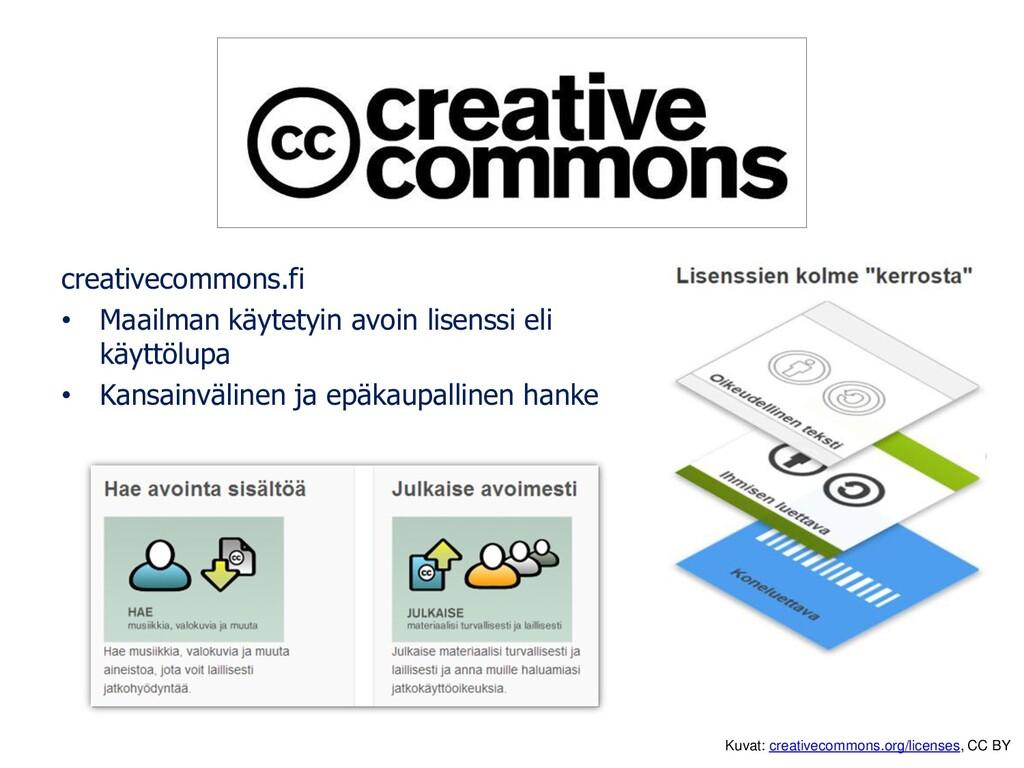 creativecommons.fi • Maailman käytetyin avoin l...