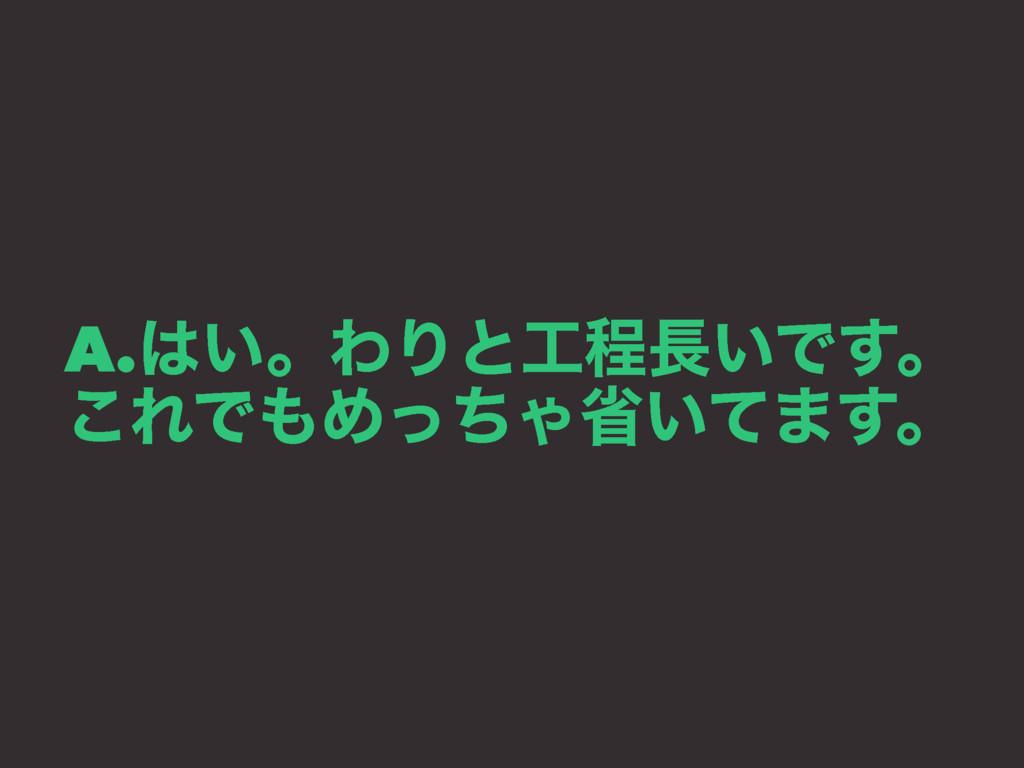 A.͍ɻΘΓͱఔ͍Ͱ͢ɻ ͜ΕͰΊͬͪΌল͍ͯ·͢ɻ