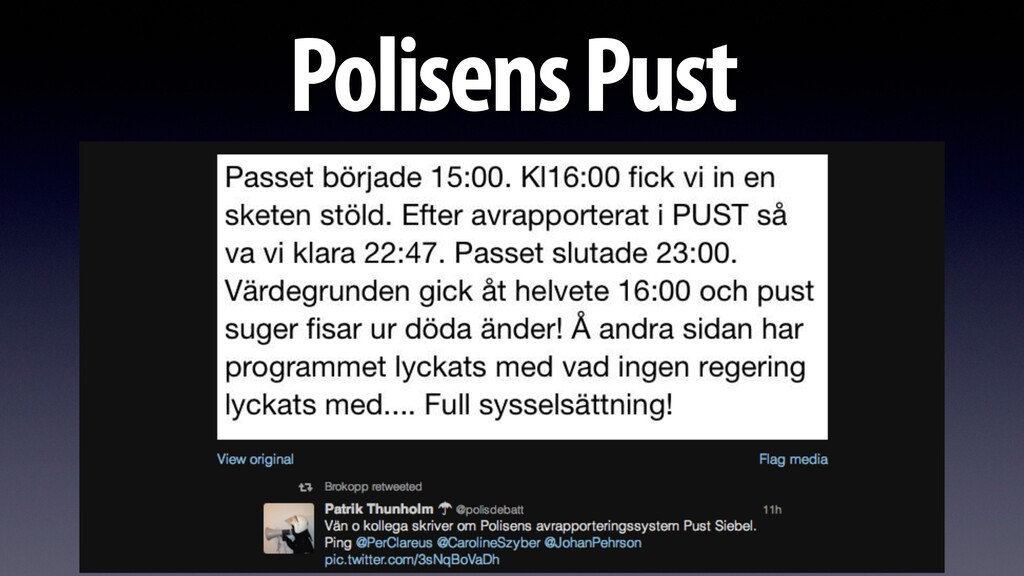 Polisens Pust