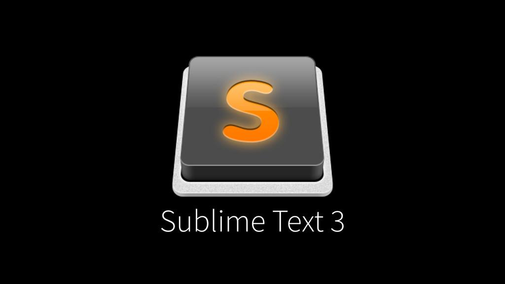 Sublime Text 3