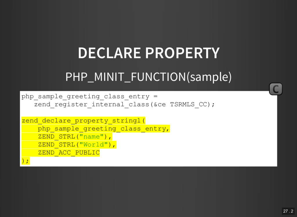 DECLARE PROPERTY PHP_MINIT_FUNCTION(sample) php...