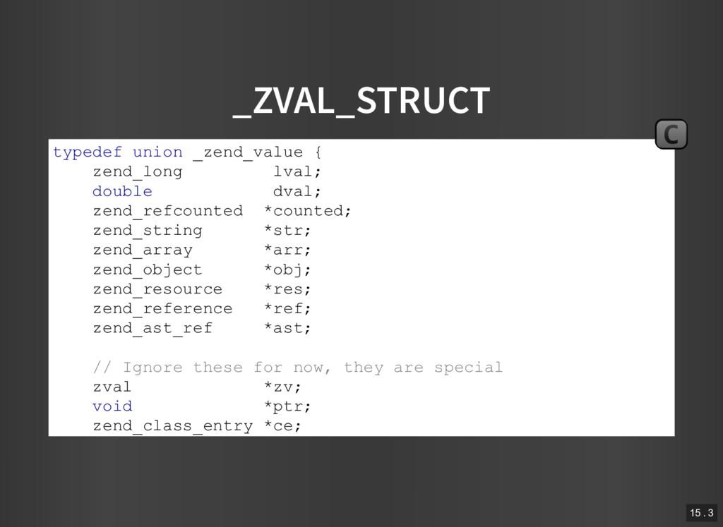 _ZVAL_STRUCT typedef union _zend_value { zend_l...