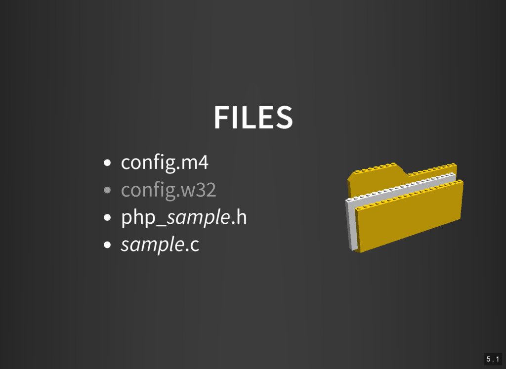 FILES config.m4 php_sample.h sample.c config.w3...