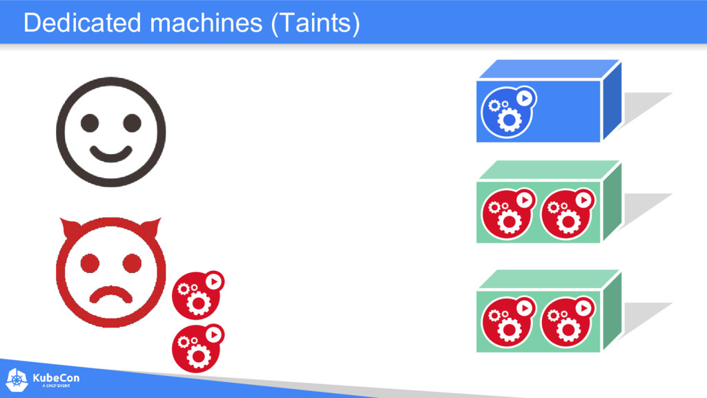 Dedicated machines (Taints)