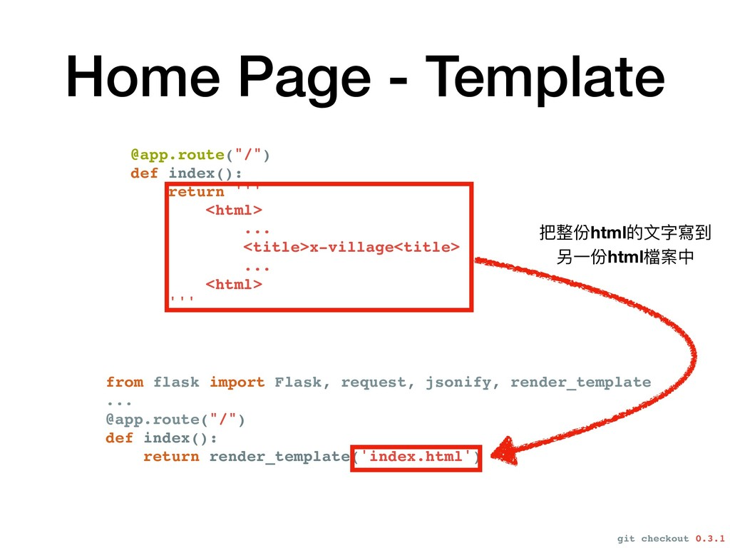 Home Page - Template from flask import Flask, r...