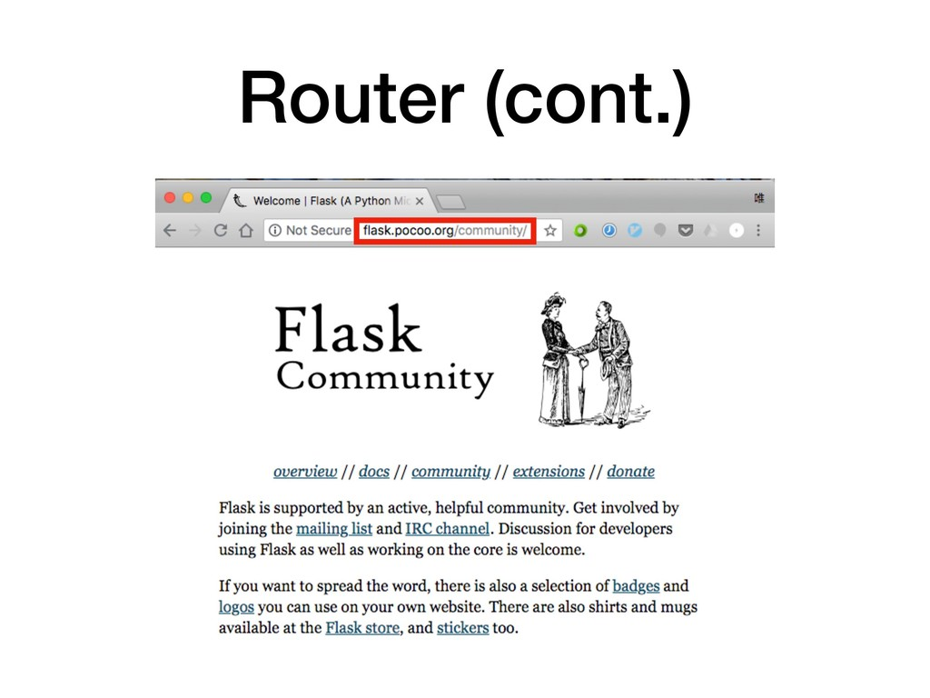Router (cont.)
