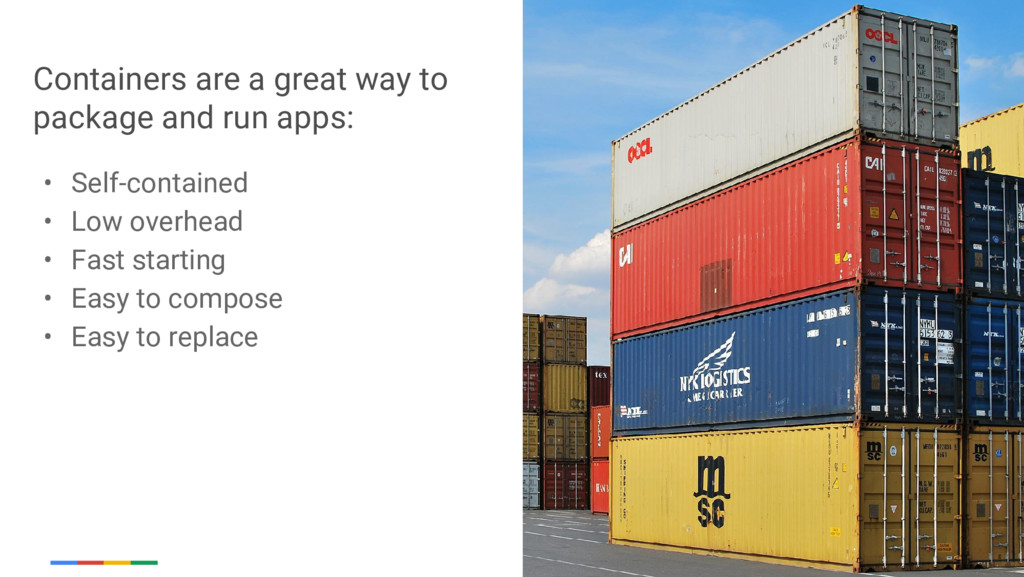 Google Cloud Platform Containers are a great wa...