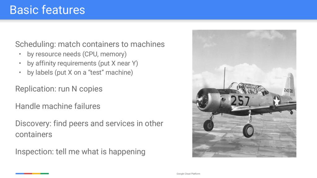 Google Cloud Platform Scheduling: match contain...