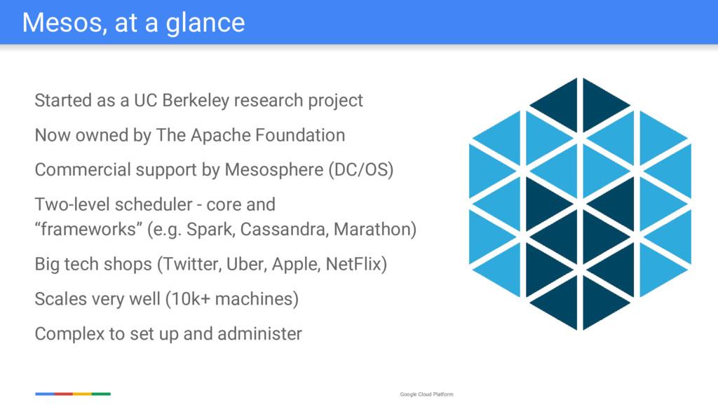 Google Cloud Platform Started as a UC Berkeley ...