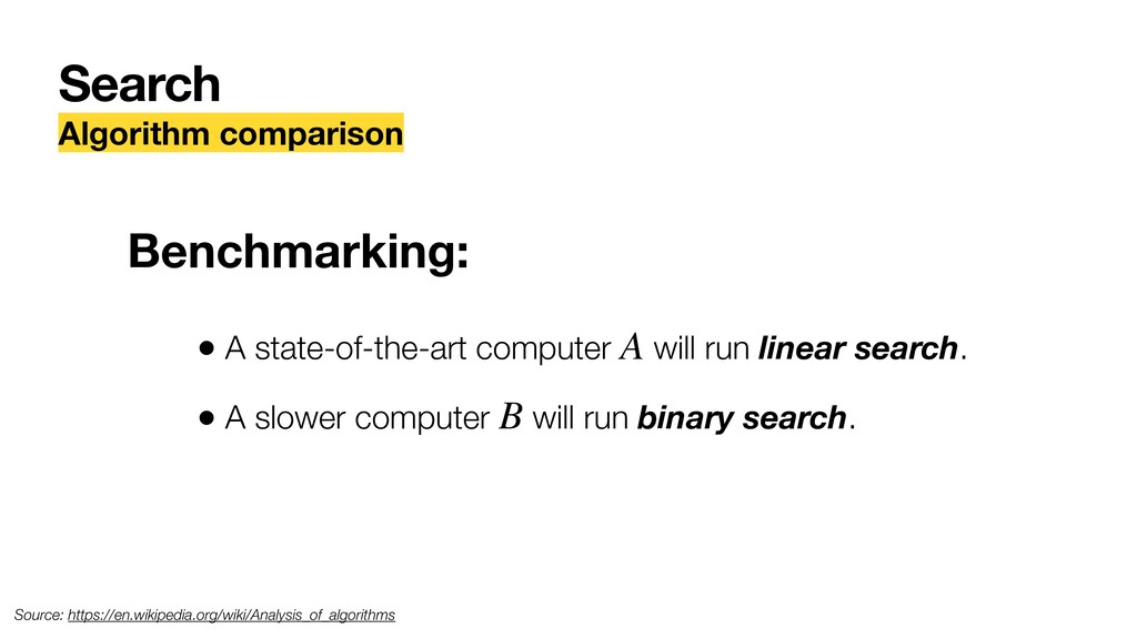 Search Algorithm comparison Benchmarking: • A s...