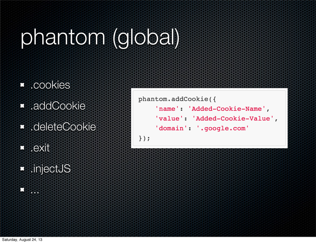 phantom (global) .cookies .addCookie .deleteCoo...