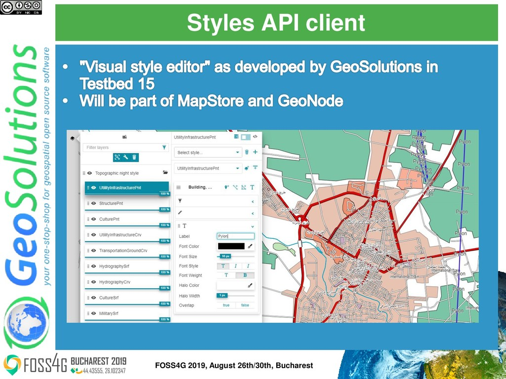 Styles API client FOSS4G 2019, August 26th/30th...