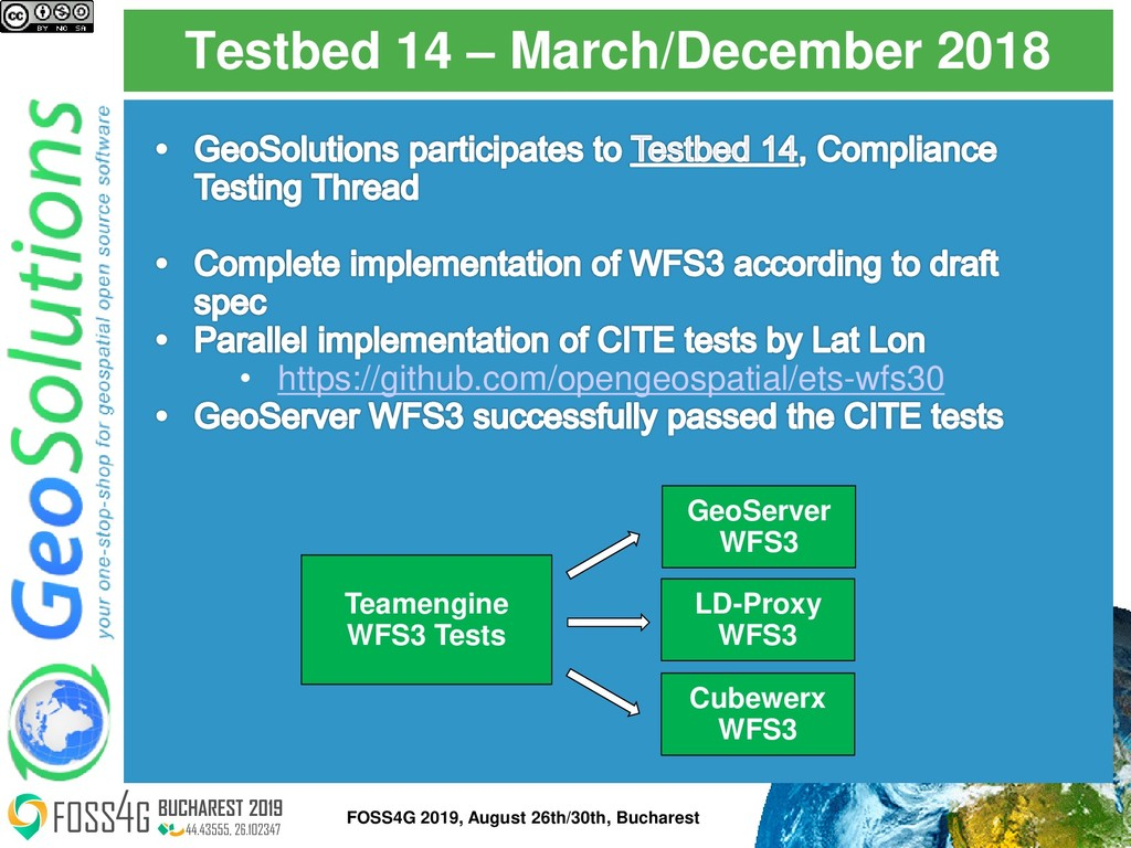 Testbed 14 – March/December 2018 • https://gith...