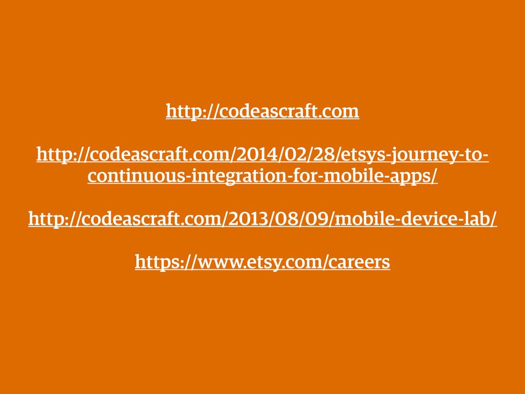 http://codeascraft.com ! http://codeascraft.com...