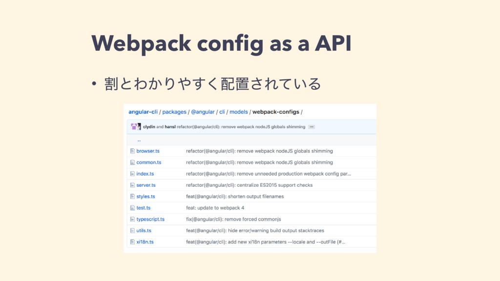 Webpack config as a API • ׂͱΘ͔Γ͘͢ஔ͞Ε͍ͯΔ