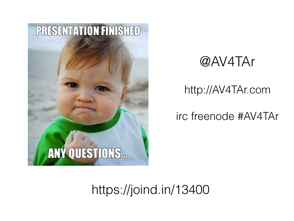 @AV4TAr http://AV4TAr.com irc freenode #AV4TAr ...