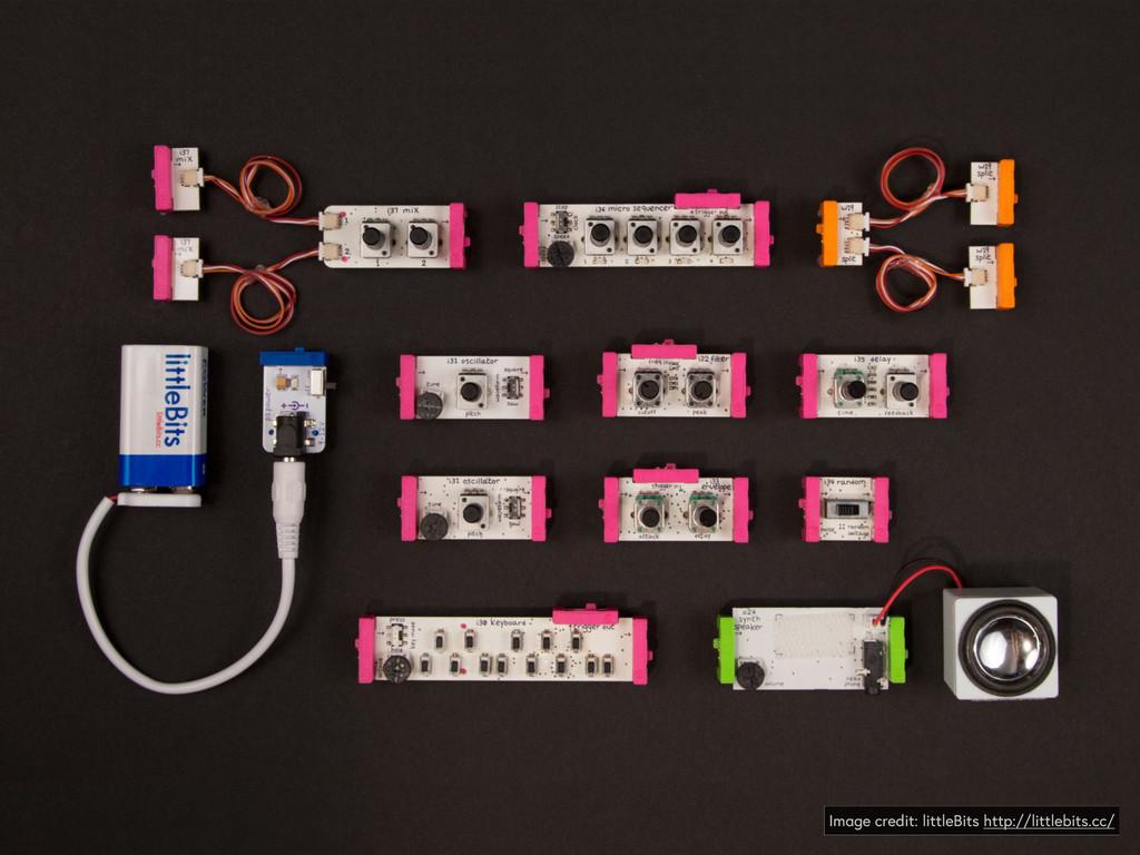 Image credit: littleBits http://littlebits.cc/