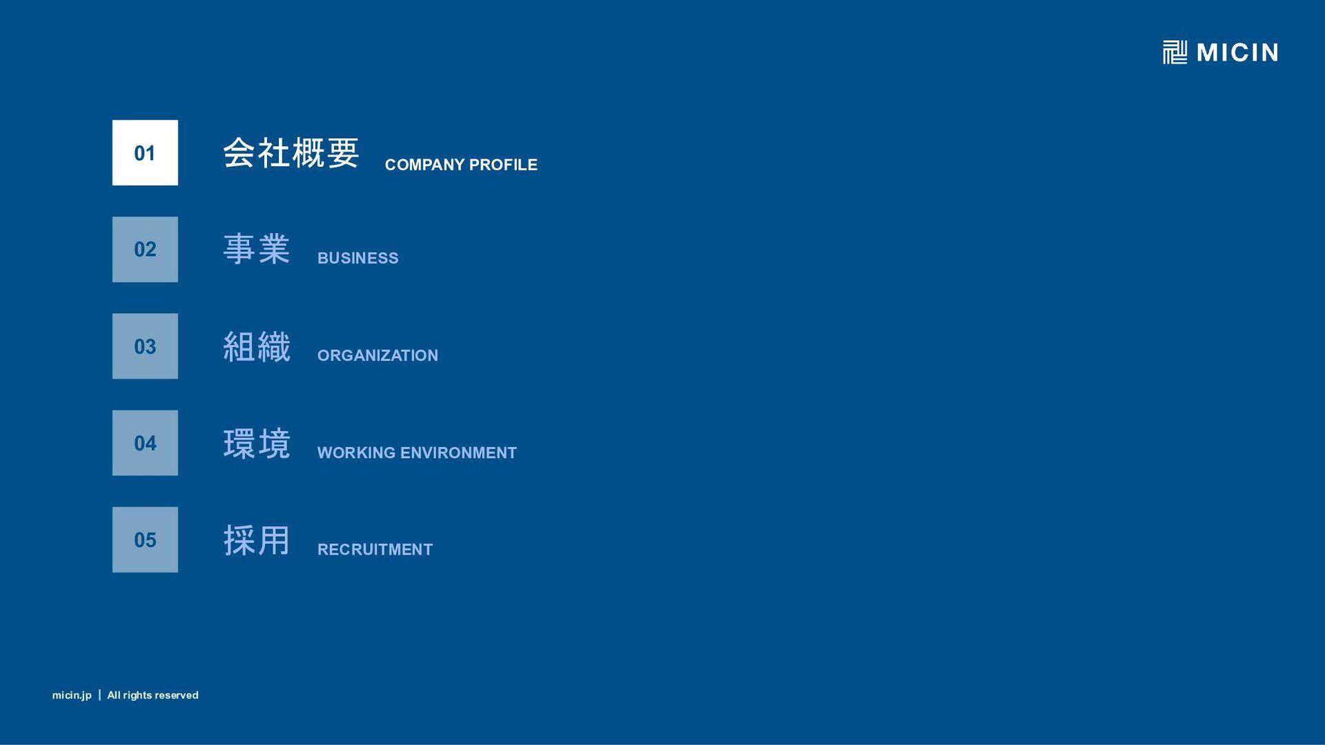 micin.jp ʛ All rights reserved 4 micin.jp ʛ All...