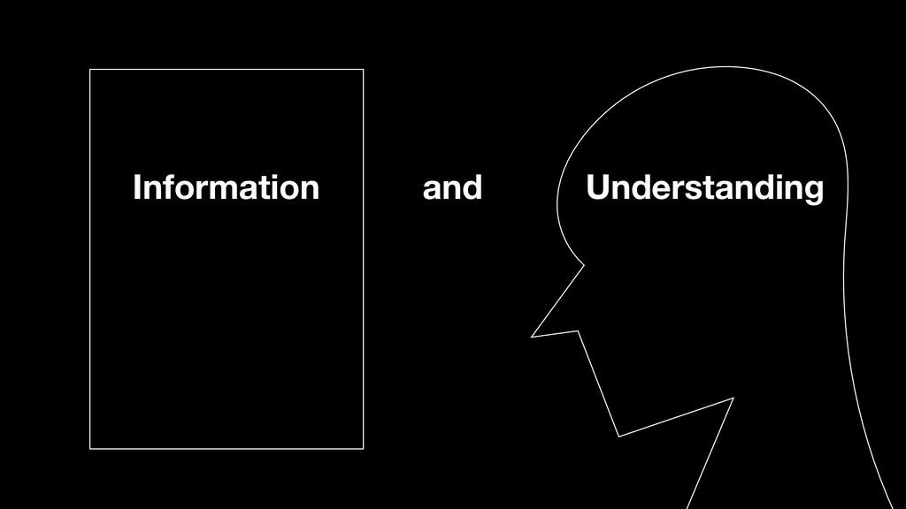 Information and Understanding