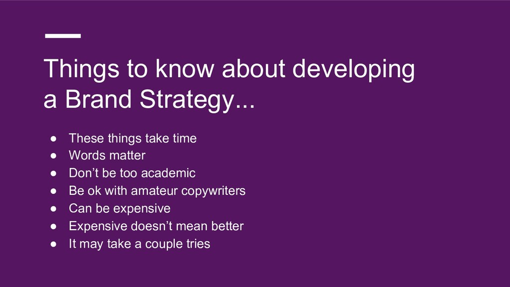 Things to know about developing a Brand Strateg...