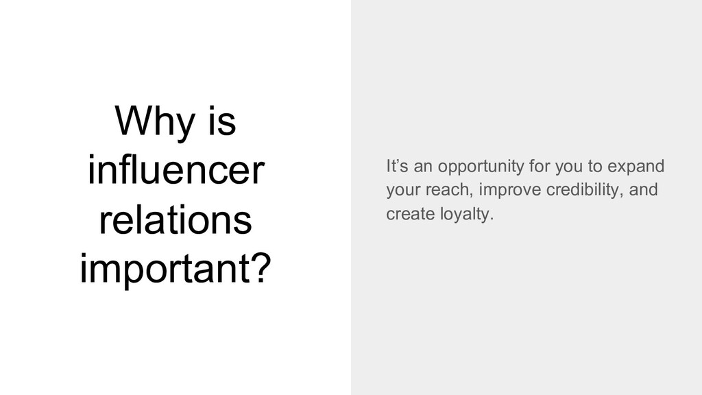 Why is influencer relations important? It's an ...